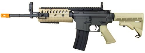 The JG M4 S-System RIS Pre-Upgraded Airsoft Rifle