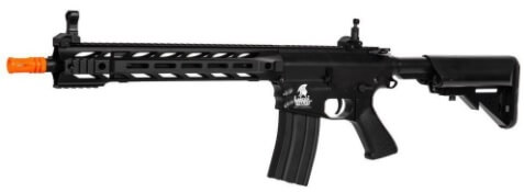 The Lancer Tactical Airsoft Interceptor AEG M4 Rifle