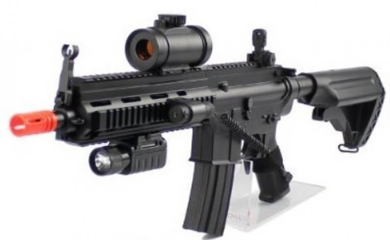The Velocity 614 Airsoft Red Dot Version 2012